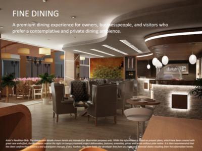 Fine Dining restaurant(内装)
